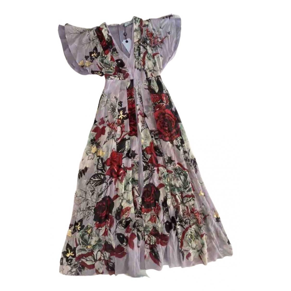 Blumarine \N Kleid in  Lila Seide