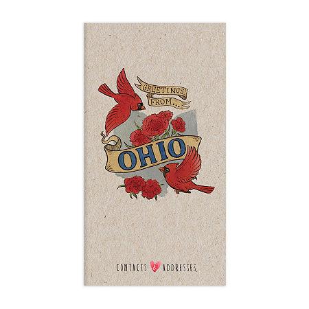 Tf Publishing Ohio Address Book, One Size , Multiple Colors