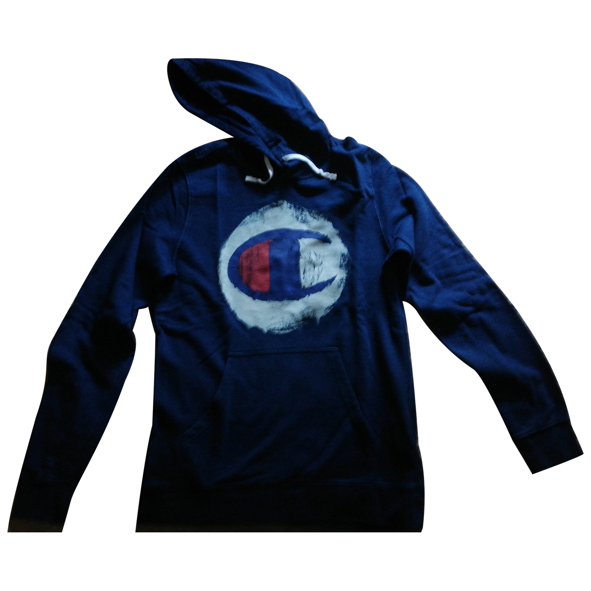 Champion \N Pullover.Westen.Sweatshirts  in  Blau Baumwolle
