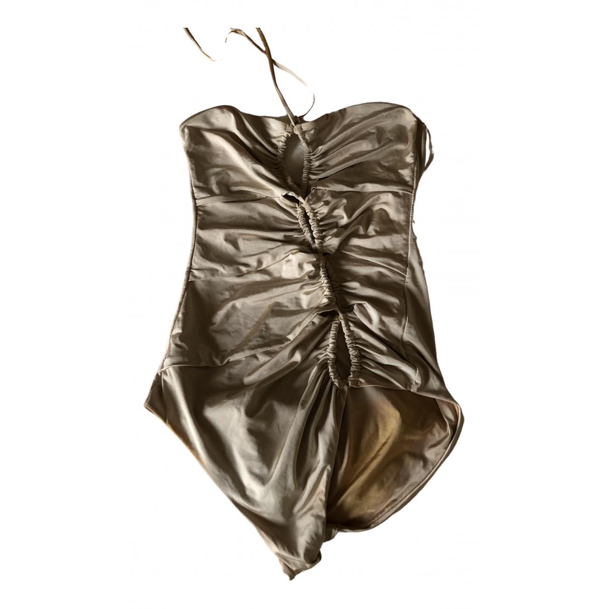 Ermanno Scervino - Bain   pour femme en lycra - beige