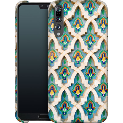 Huawei P20 Pro Smartphone Huelle - Moroccan Mosaic von Omid Scheybani