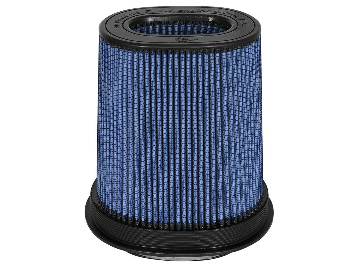 aFe Magnum FLOW Intake Replacement Air Filter w/ Pro 5R Media F-(7X4-3/4) X B-(9X7) X T-(7-1/4X5) (Inverted) X H-9 IN