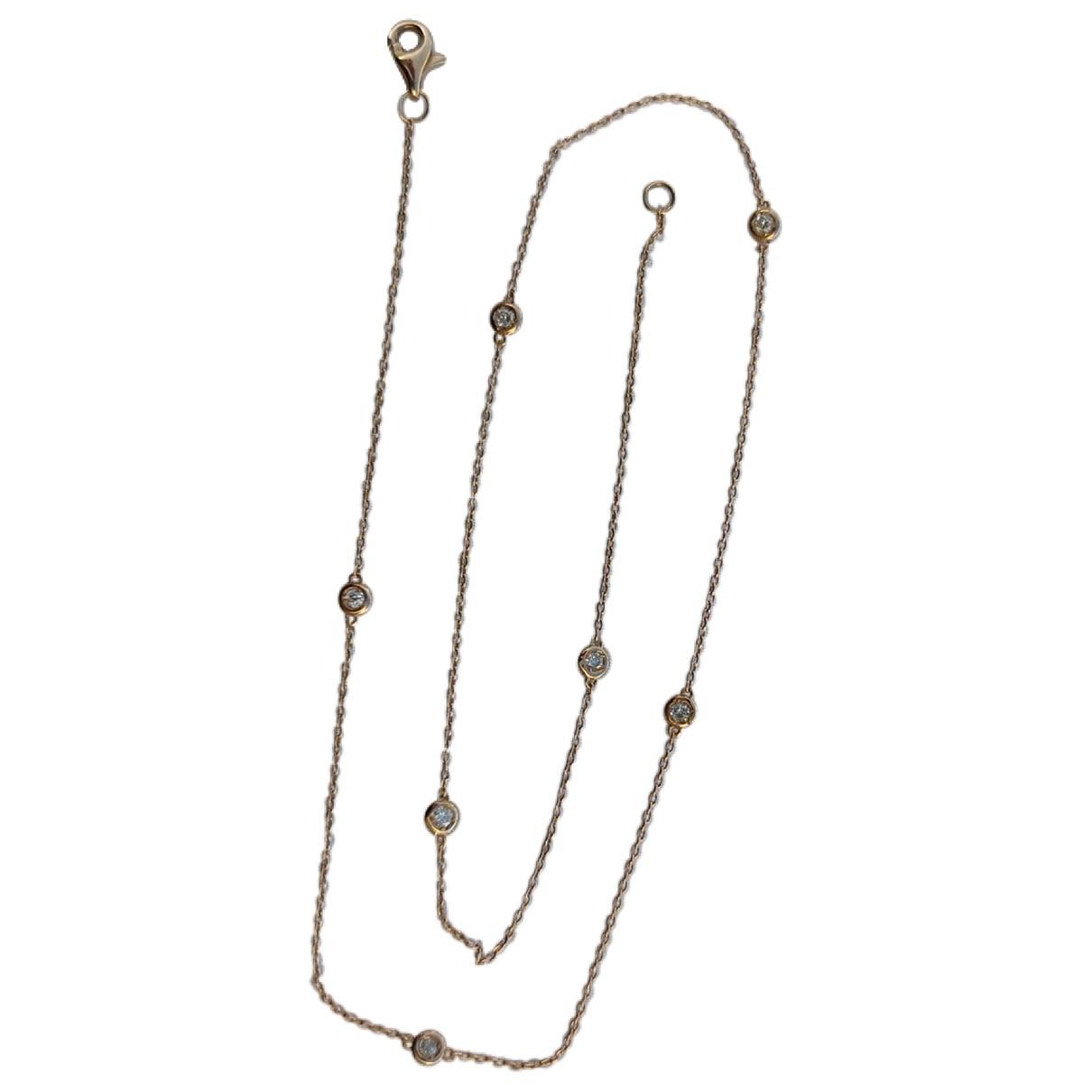 - Collier Chaines pour femme en or rose - rose