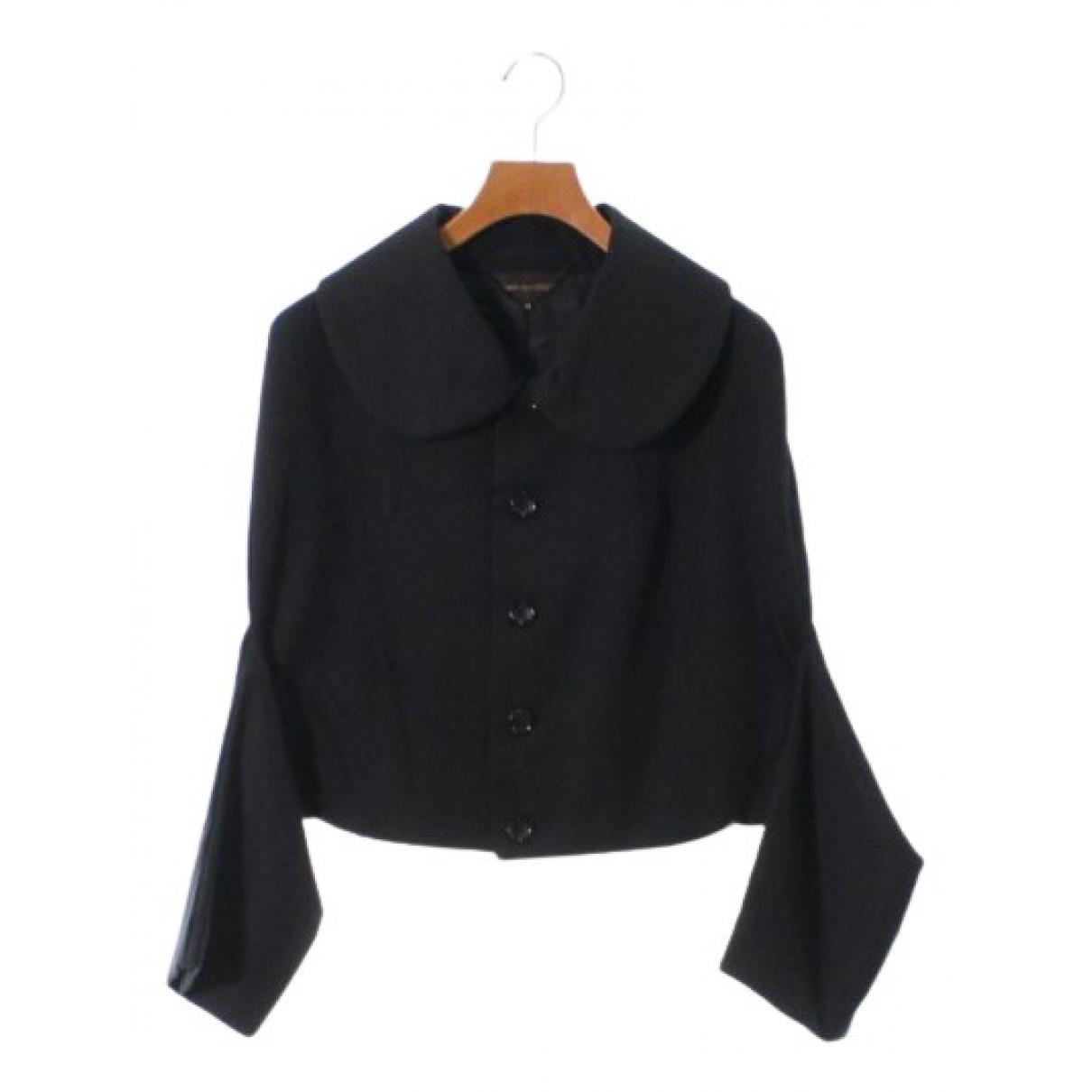 Comme Des Garcons - Veste   pour femme en coton - noir