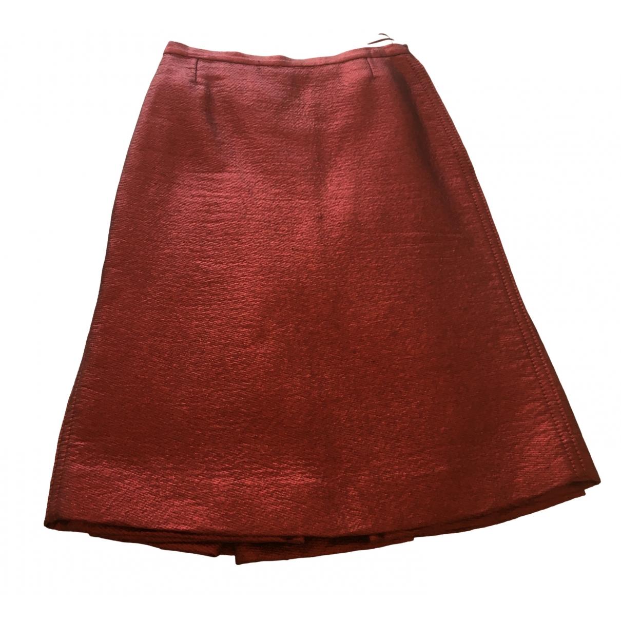 Louis Vuitton - Jupe   pour femme - rouge