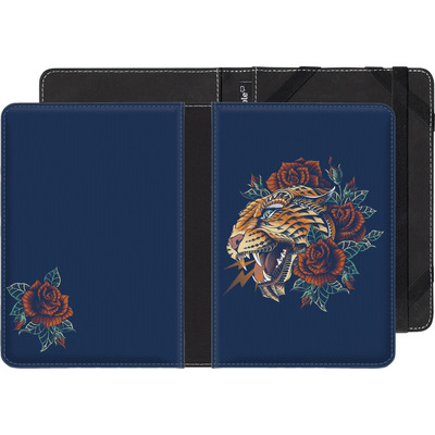 Amazon Kindle eBook Reader Huelle - Ornate Leopard von BIOWORKZ