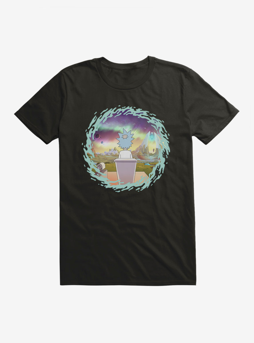 Rick And Morty The Old Man And The Seat T-Shirt