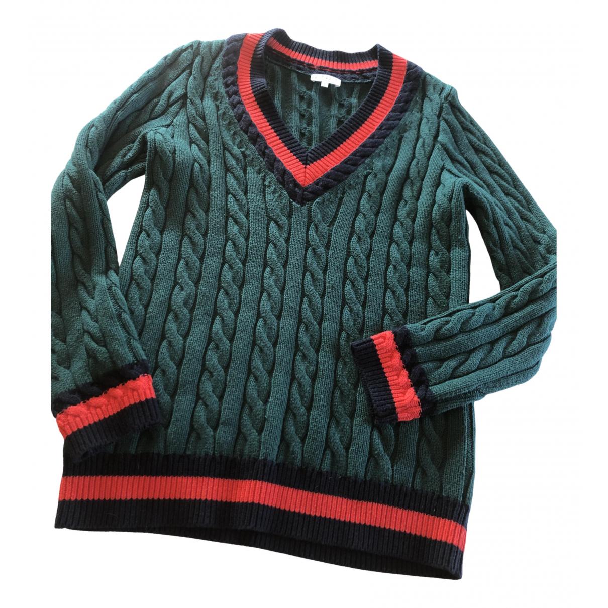 Claudie Pierlot - Pull Spring Summer 2019 pour femme en laine - vert