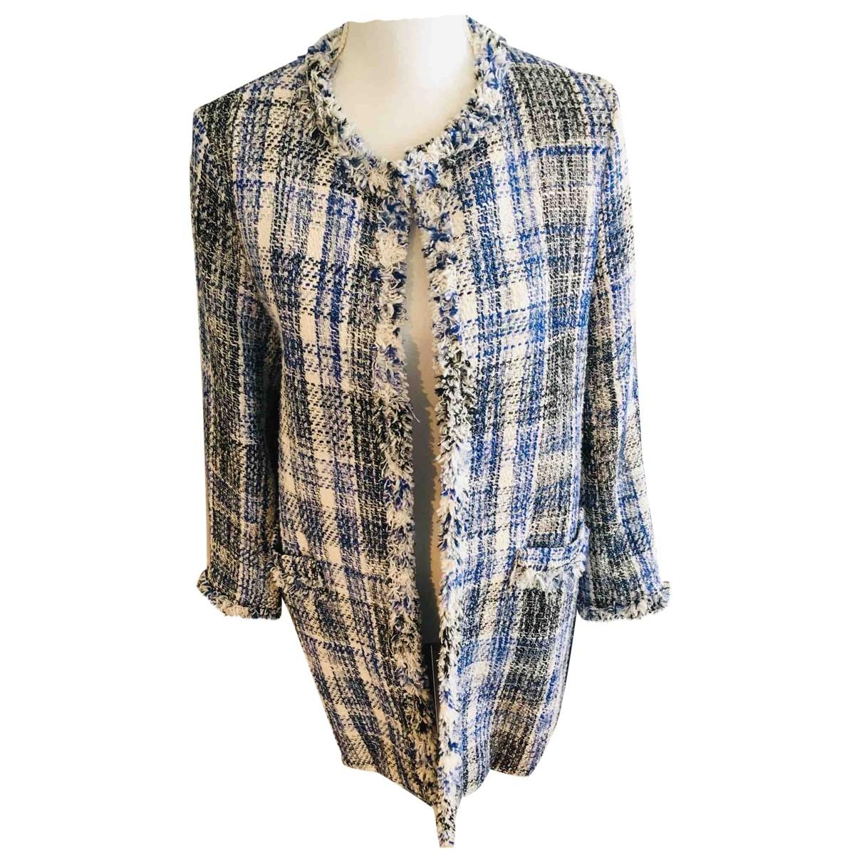 Zara \N Multicolour Cotton coat for Women 38 FR
