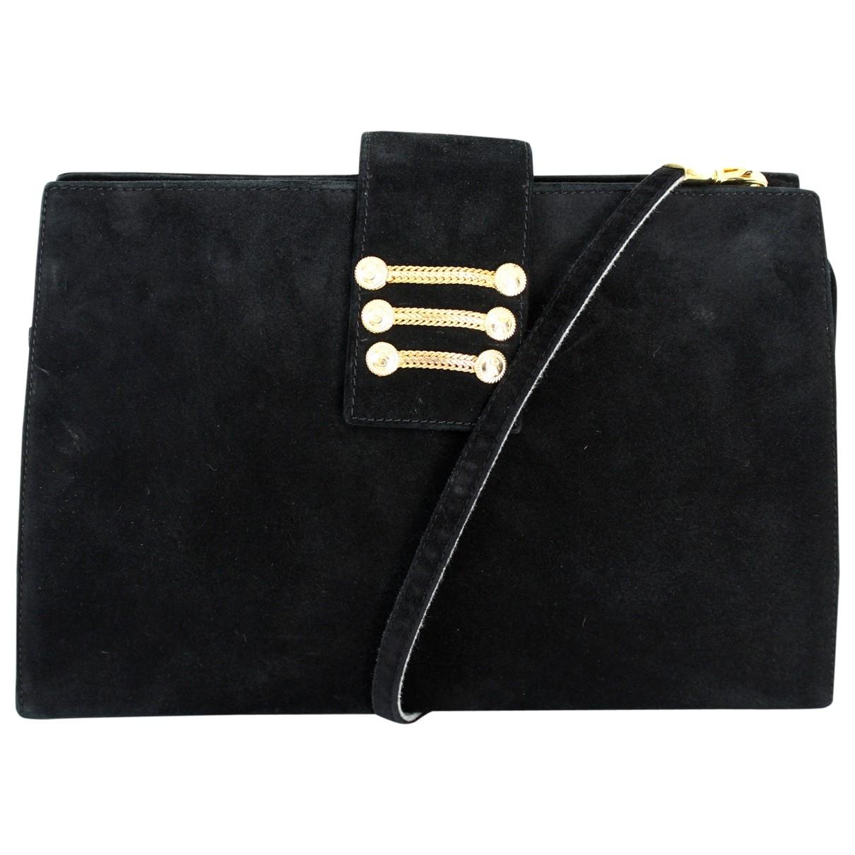 Sergio Rossi \N Black Suede handbag for Women \N