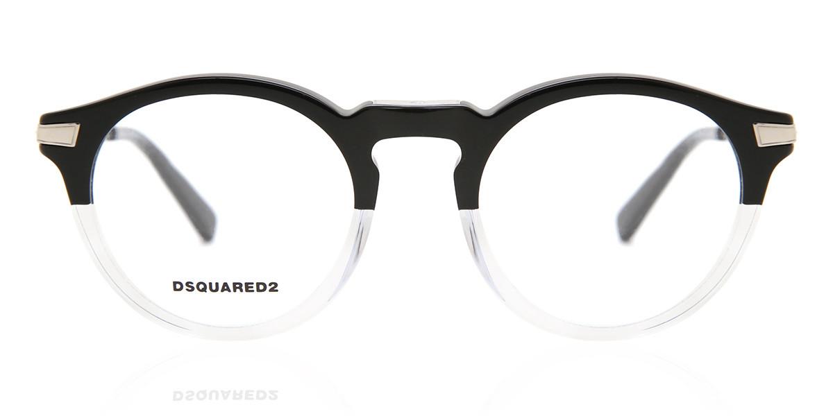 Dsquared2 DQ5211 003 Men's Glasses Black Size 49 - Free Lenses - HSA/FSA Insurance - Blue Light Block Available