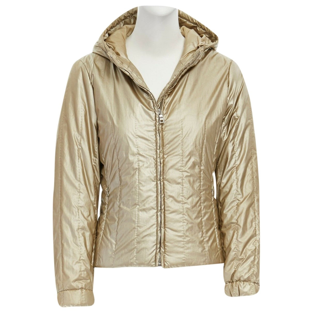 Prada \N Gold jacket for Women 38 IT