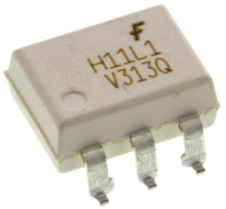 ON Semiconductor , H11L1SR2VM DC Input Logic Gate Output Optocoupler, Surface Mount, 6-Pin DIP (5)