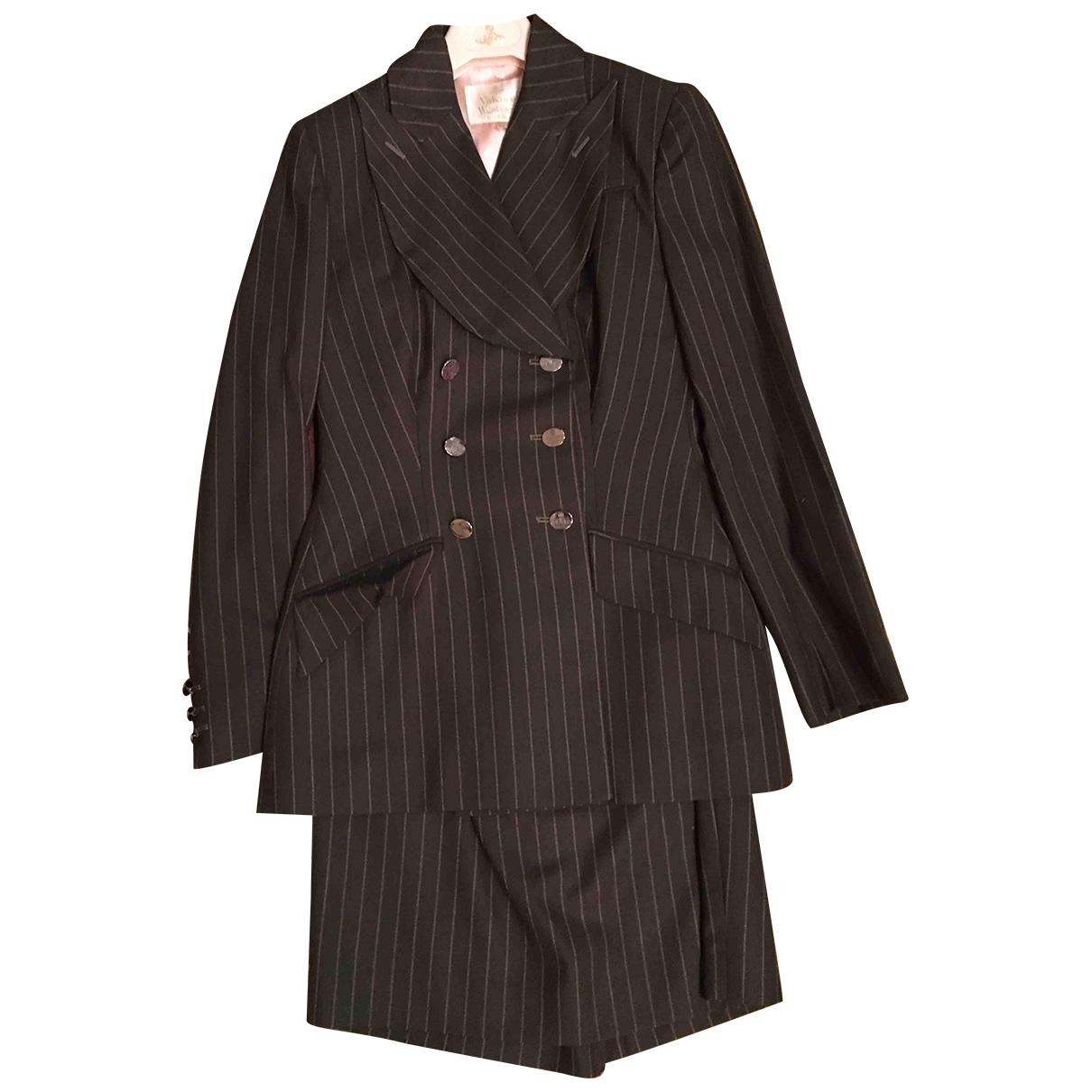 Vivienne Westwood \N Jacke in  Khaki Wolle