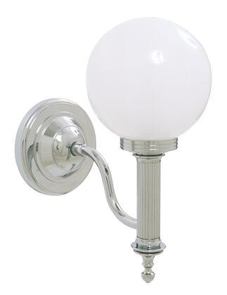 Ibis 30954CR Bathroom Wall Light with Glass Ball Shade 11