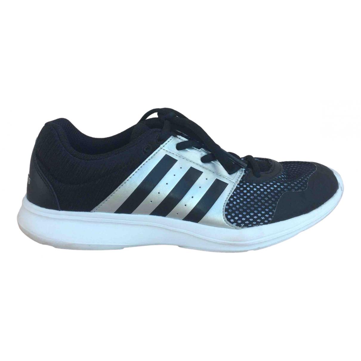 Adidas \N Sneakers in  Schwarz Polyester