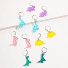 5pairs Dinosaur Drop Earrings