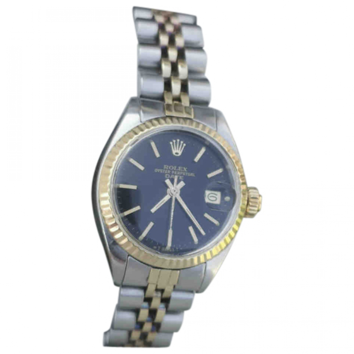 Rolex Lady DateJust 26mm gold and steel watch for Women N