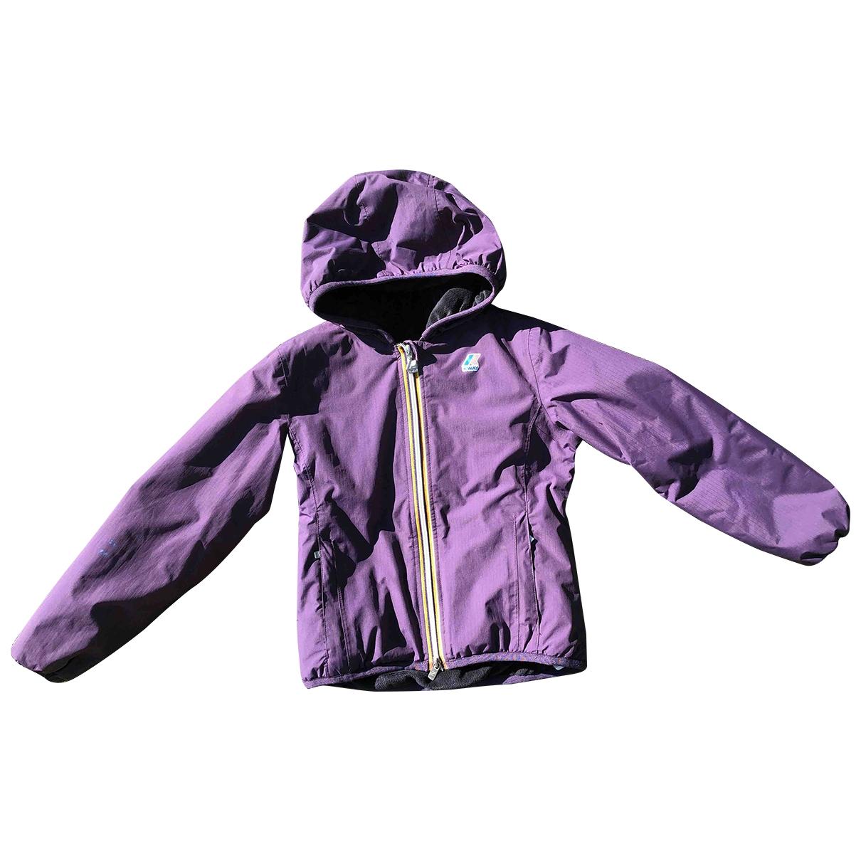 K-way - Blousons.Manteaux   pour enfant - violet