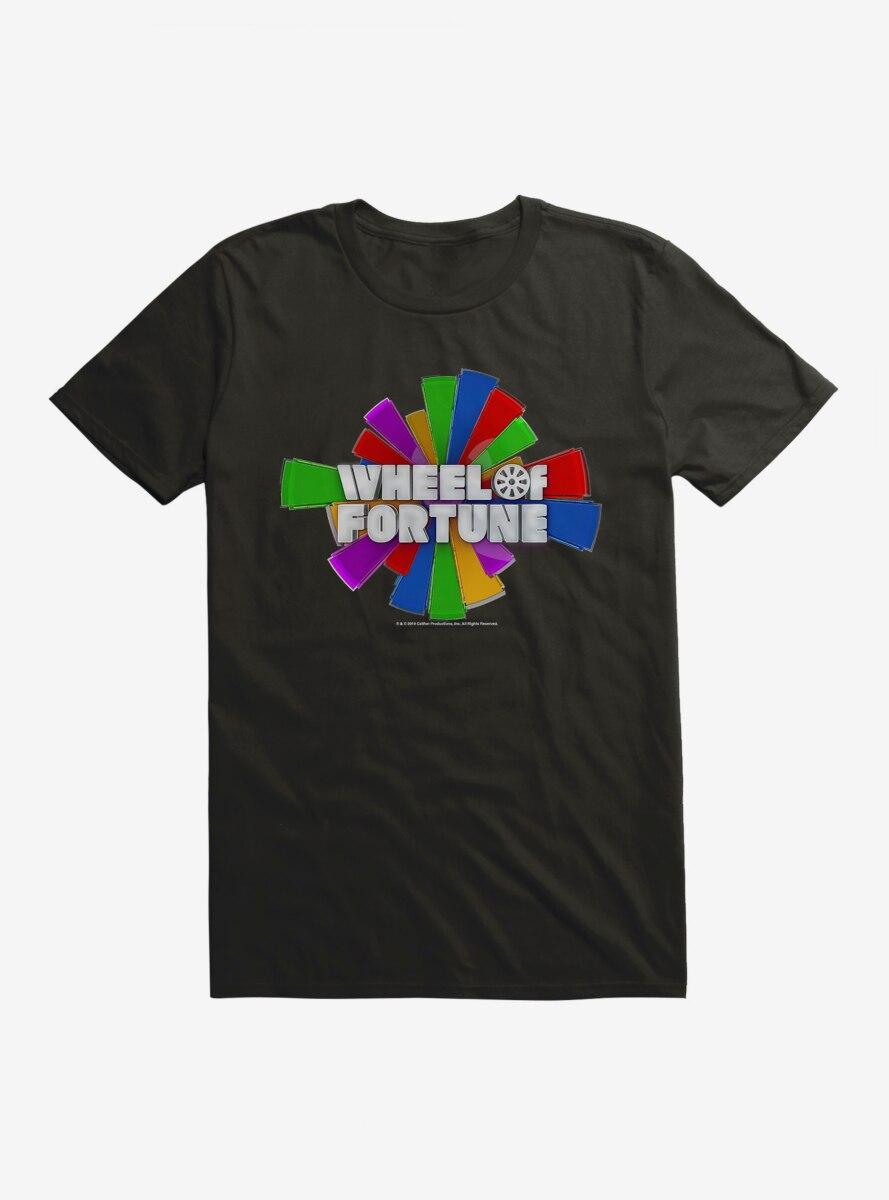 Wheel Of Fortune Silver Script Logo T-Shirt
