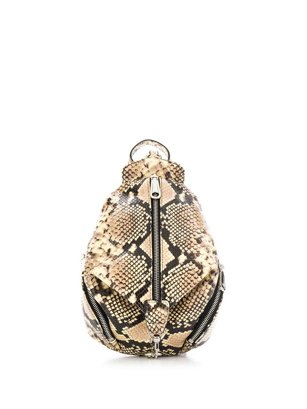 Julian Mini Leather Backpack