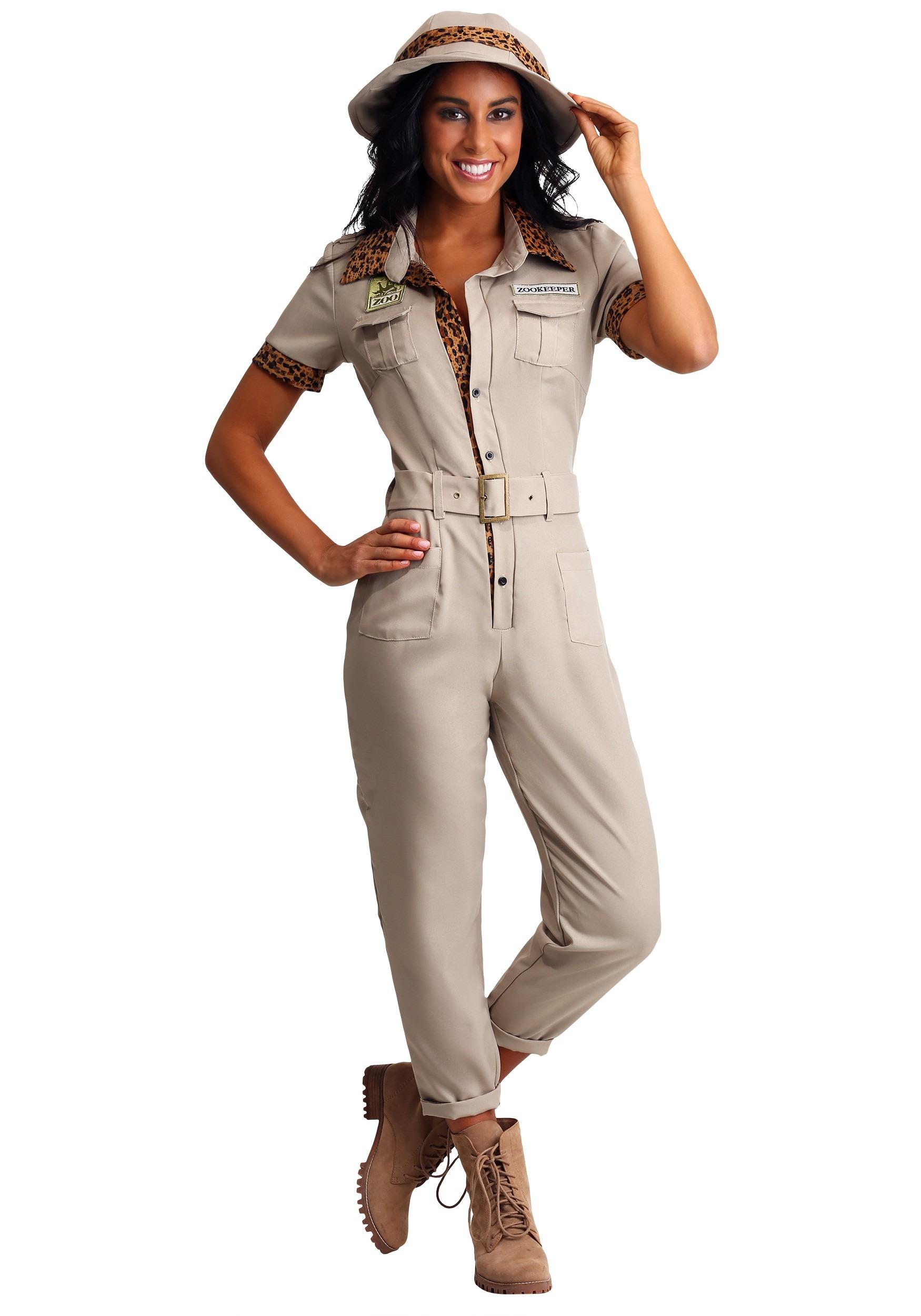 Womens Zookeeper Costume