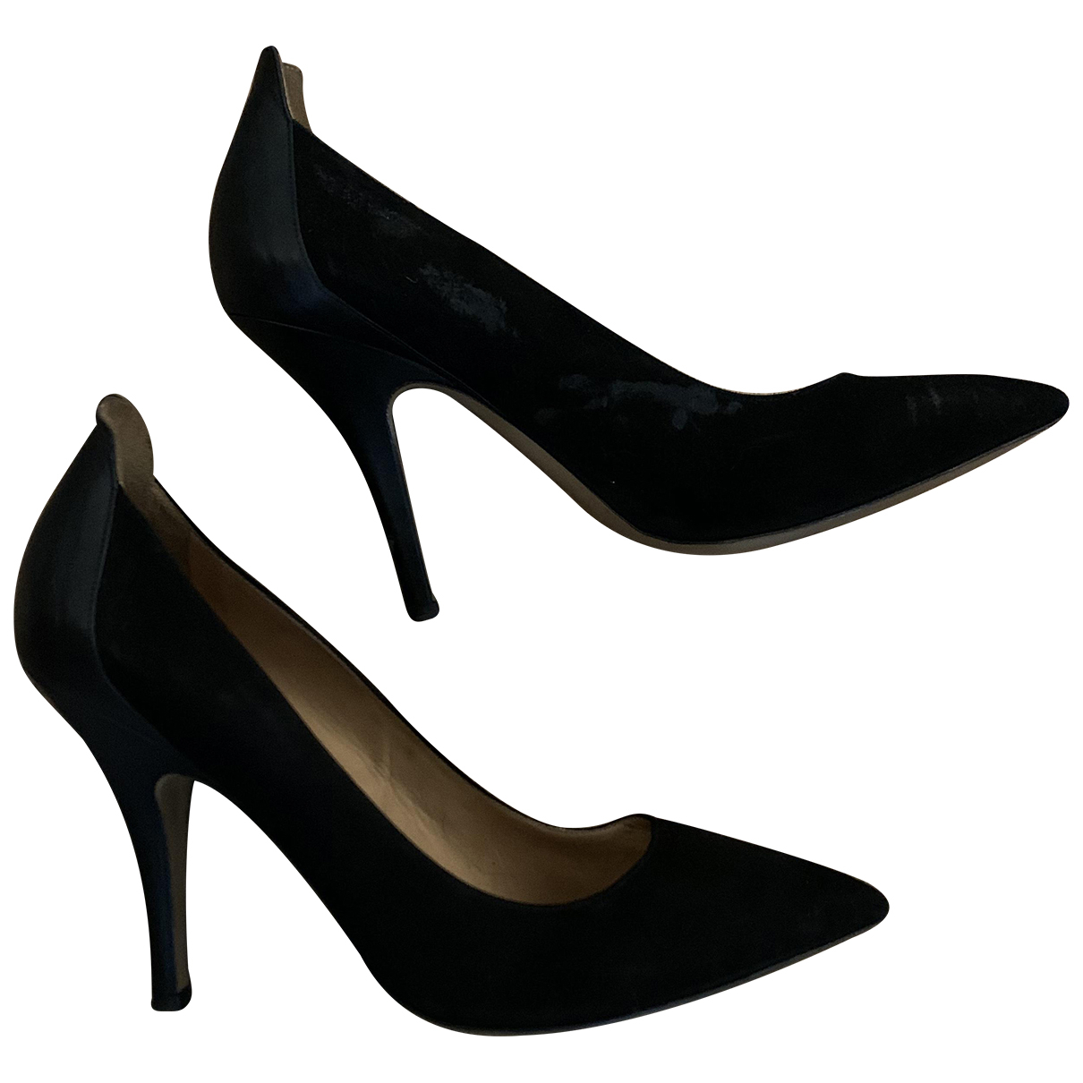 Isabel Marant N Black Suede Heels for Women 40 EU