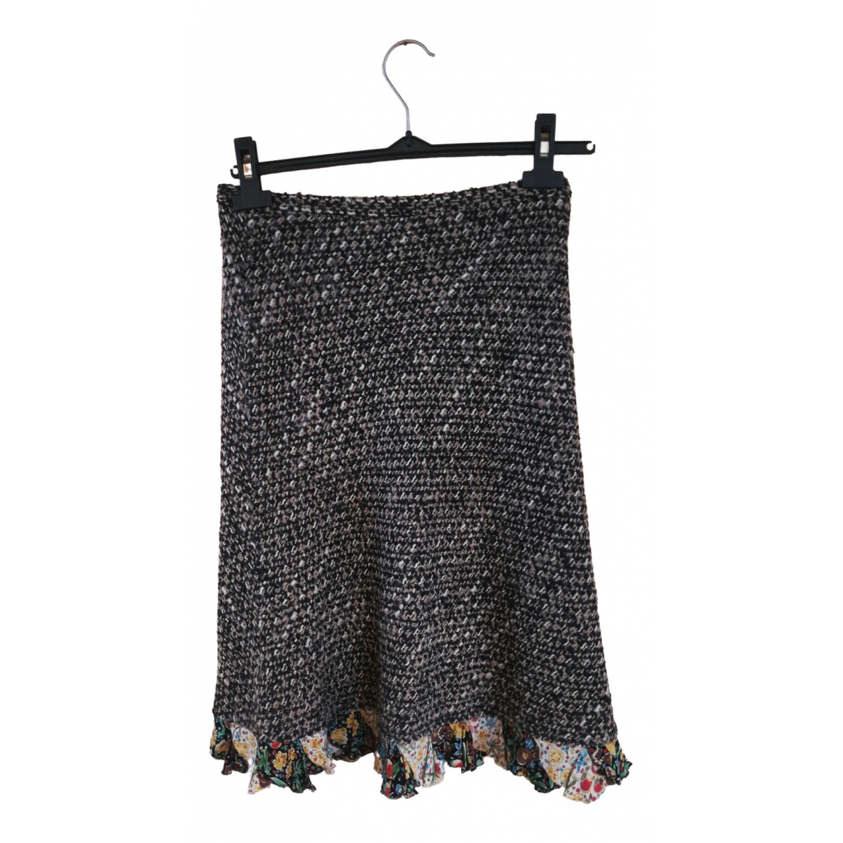 Moschino Cheap And Chic \N Brown Wool skirt for Women 40 FR