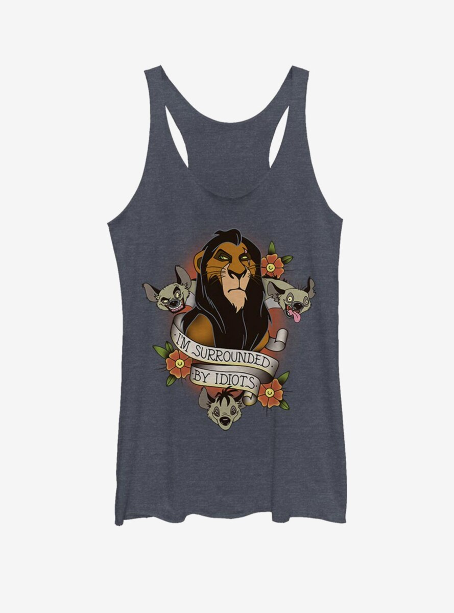 Disney The Lion King Surrounded Womens Tank Top