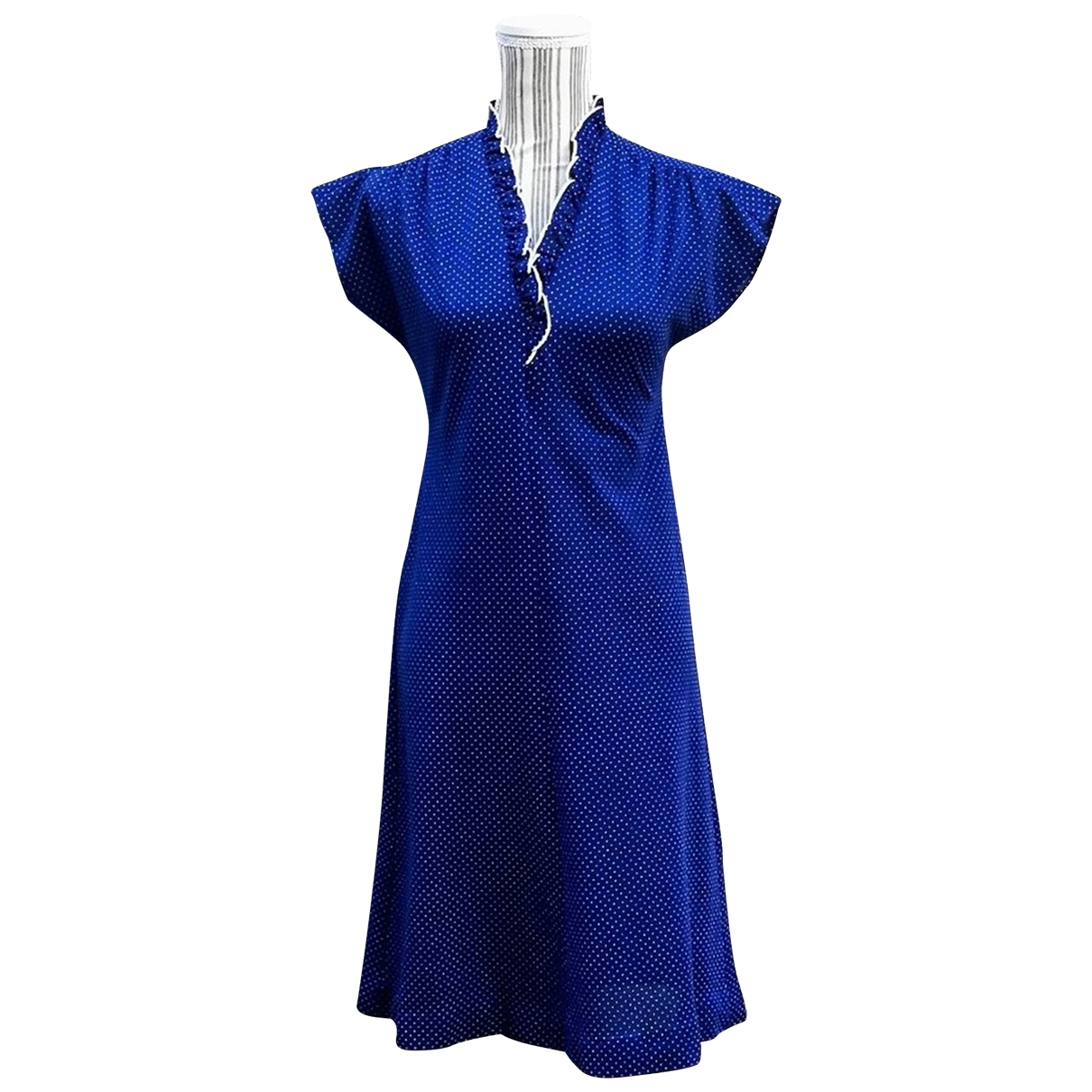 Non Signé / Unsigned \N Blue dress for Women M International