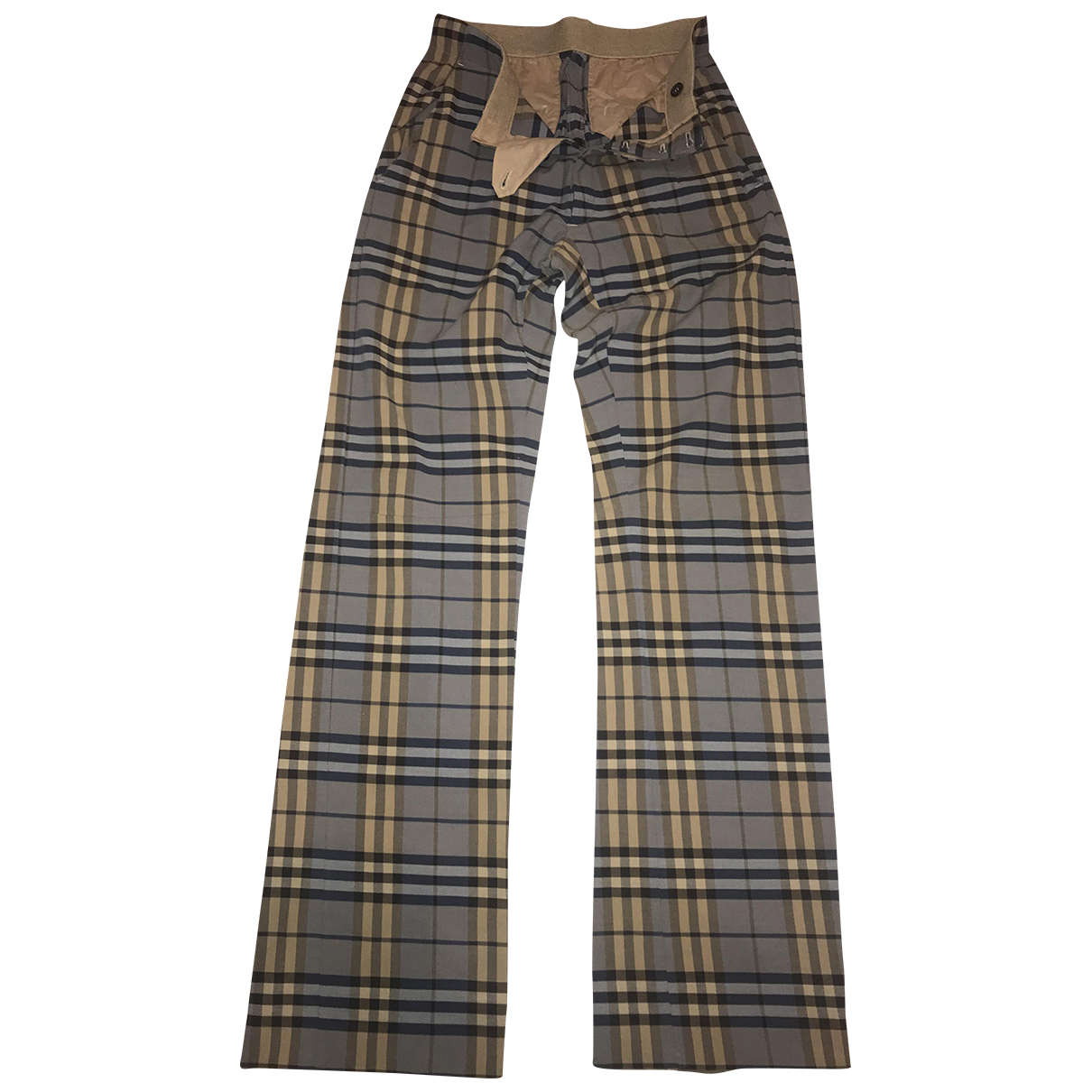 Burberry \N Cotton Trousers for Men 44 IT