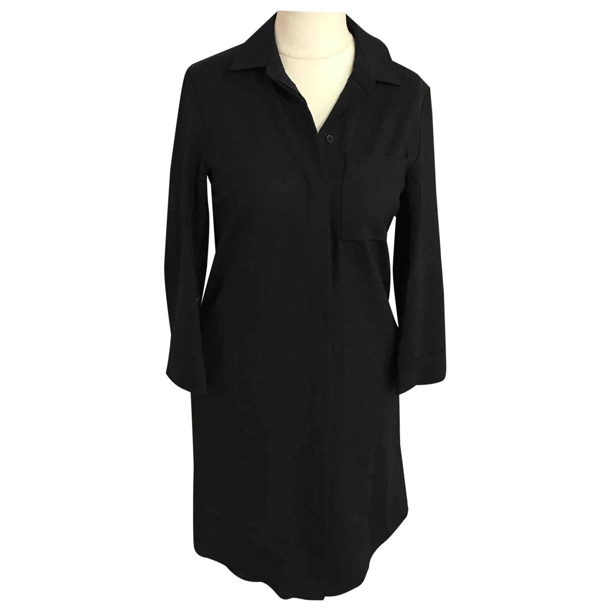 Cos \N Black Wool dress for Women S International