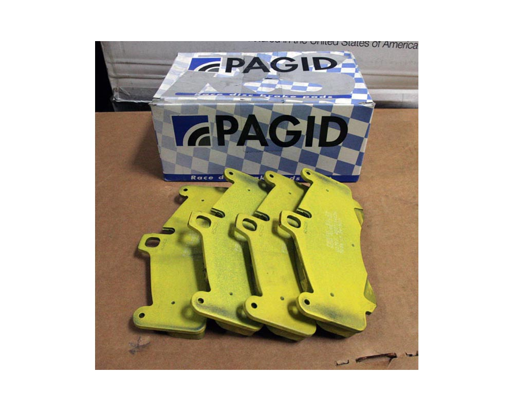 Pagid PAG-2707-RS19 RS 19 Yellow Front Brake Pads Porsche 997 Turbo 07-12