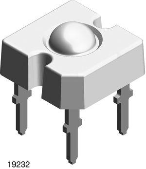 Vishay 4.7 V Green LED Super Flux Through Hole,  TELUX VLWTG9600 (70)