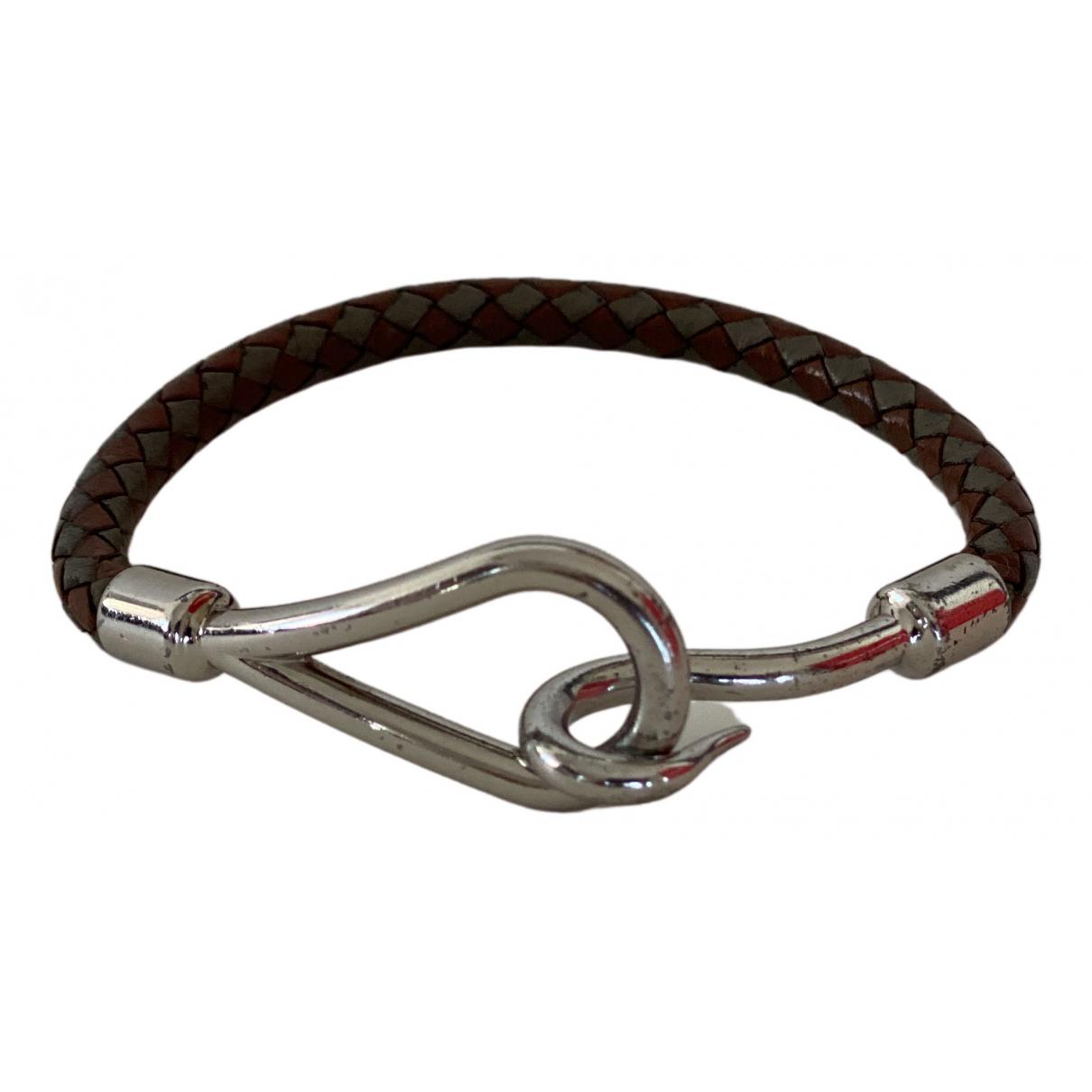 Hermes Jumbo Armband in Silber