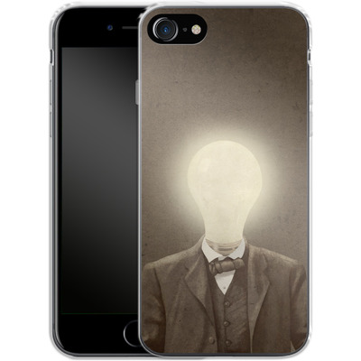Apple iPhone 8 Silikon Handyhuelle - The Idea Man von Terry Fan