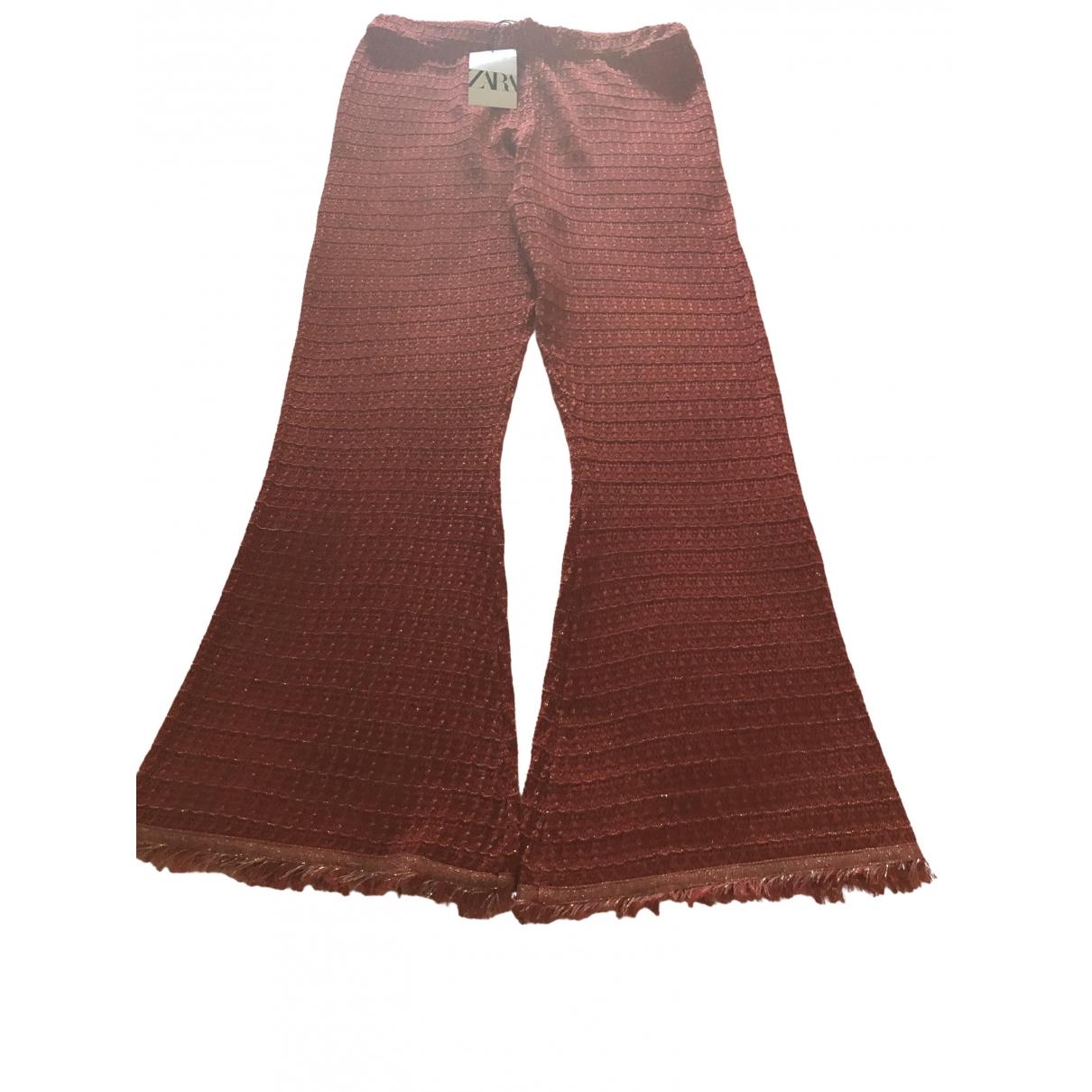 Zara \N Orange Trousers for Women L International