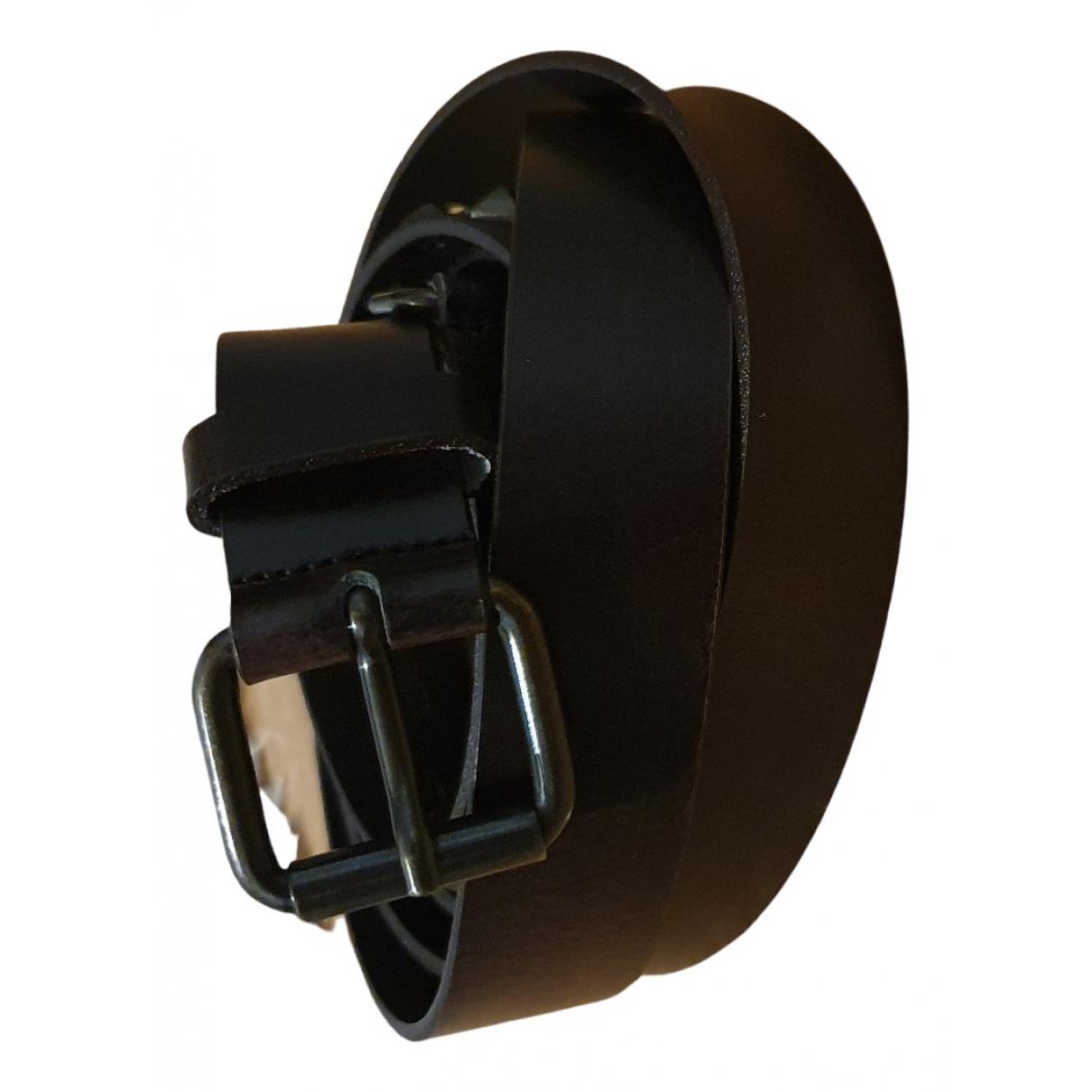 Max Mara Weekend N Brown Leather belt for Women M International