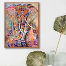 DIY Diamand Malerei mit Elefant Muster