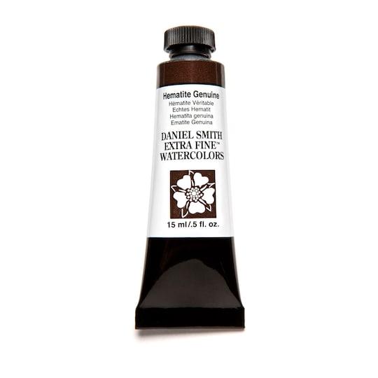 Daniel Smith Extra Fine™ Watercolor, 15 Ml Paint in Hematite Genuine | Michaels®