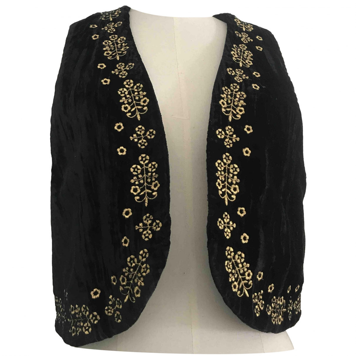 & Stories \N Black Velvet jacket for Women 36 FR
