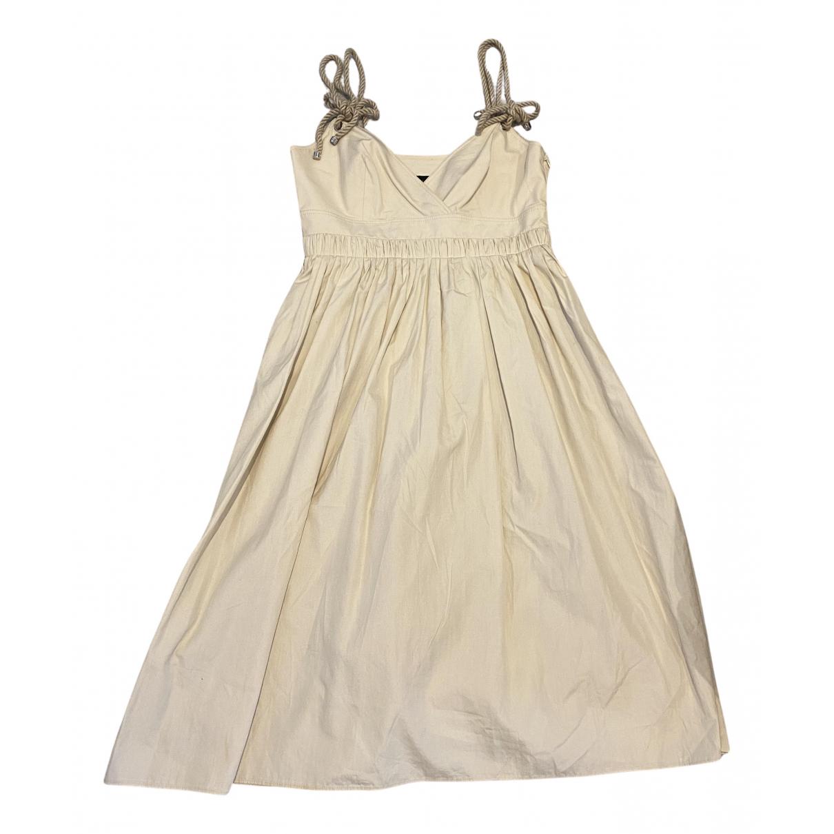 Burberry N Beige Cotton dress for Women 40 IT