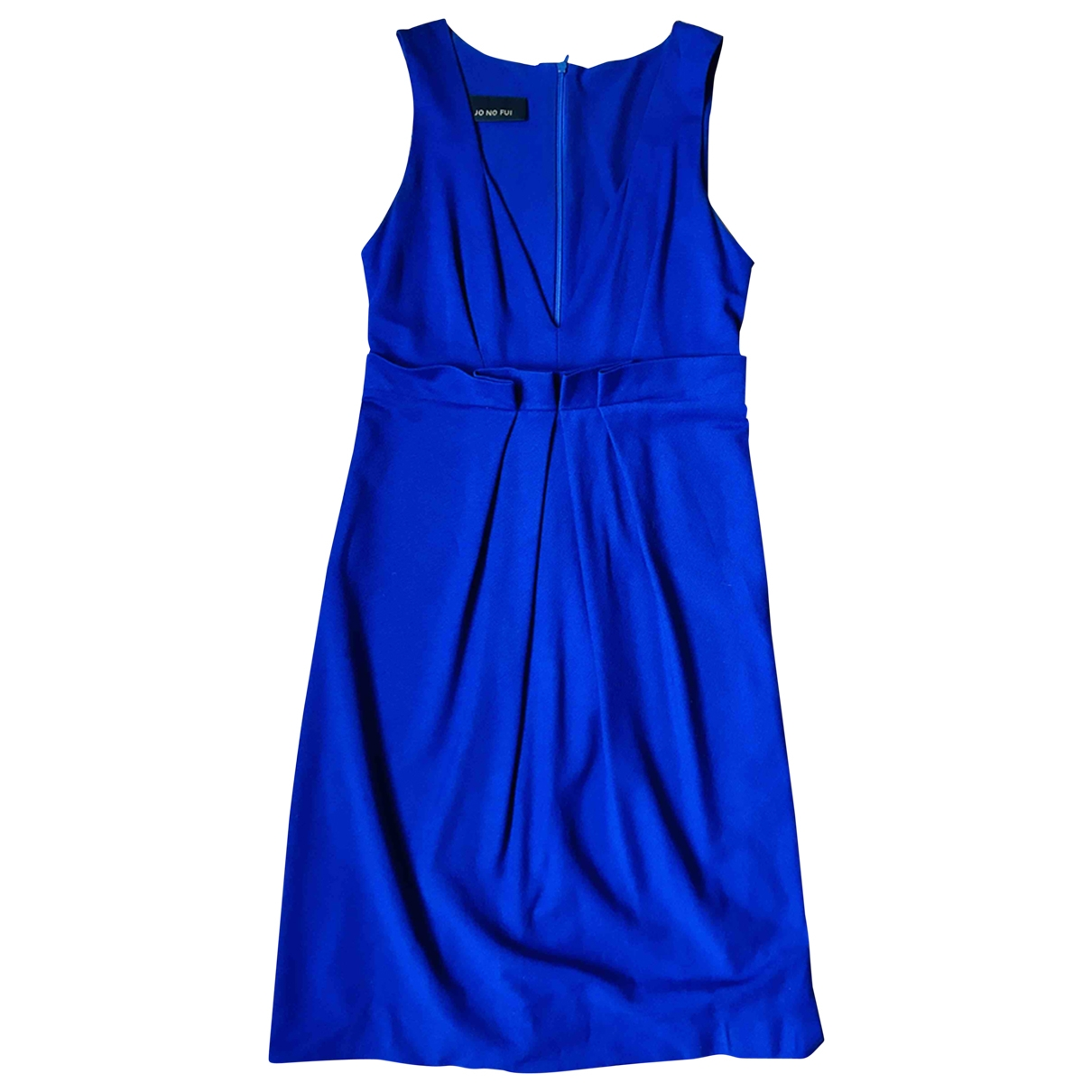 Non Signé / Unsigned \N Blue Cotton dress for Women 38 IT