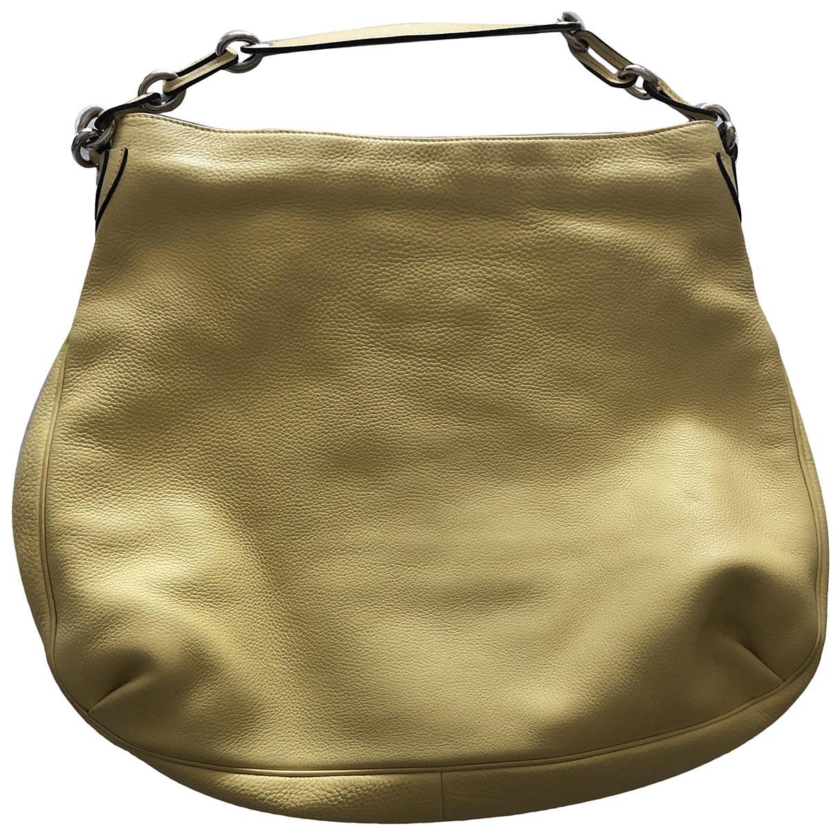 Marc Jacobs \N Yellow Leather handbag for Women \N