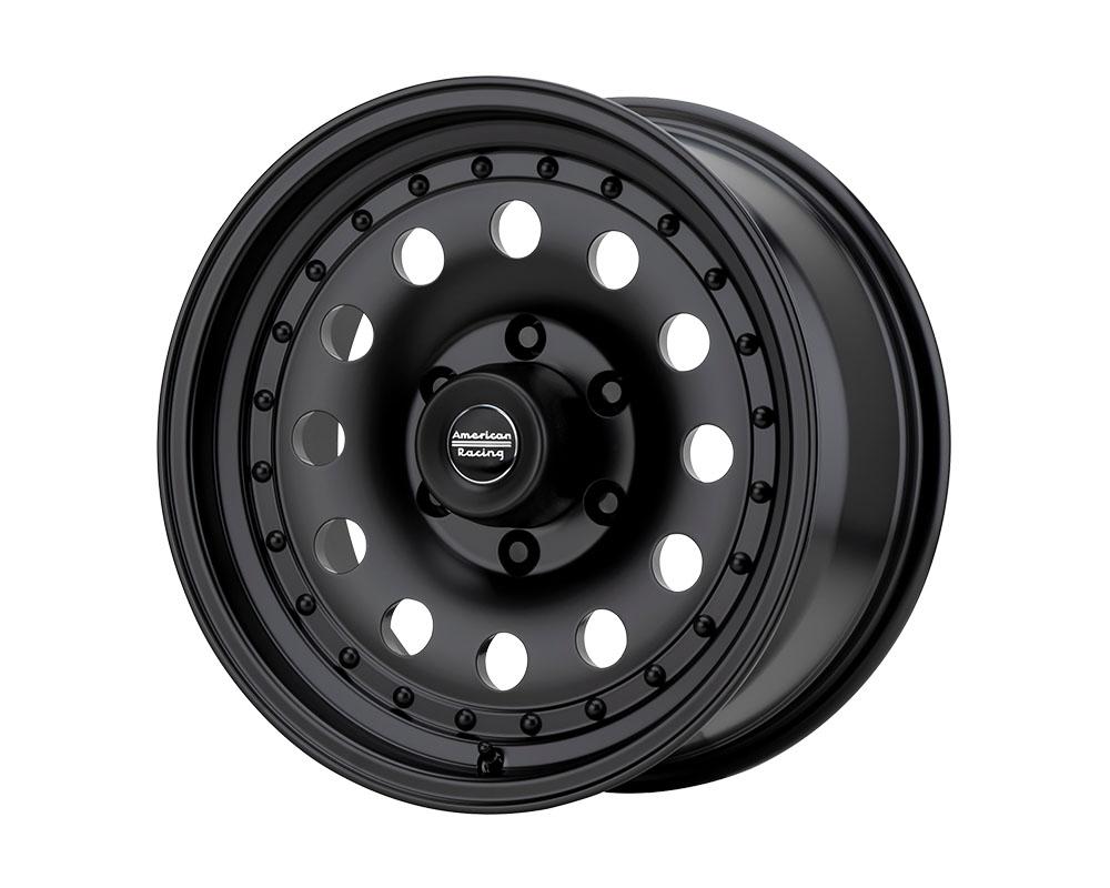 American Racing AR62 Outlaw II Wheel 14x7 4x4x108 +0mm Satin Black
