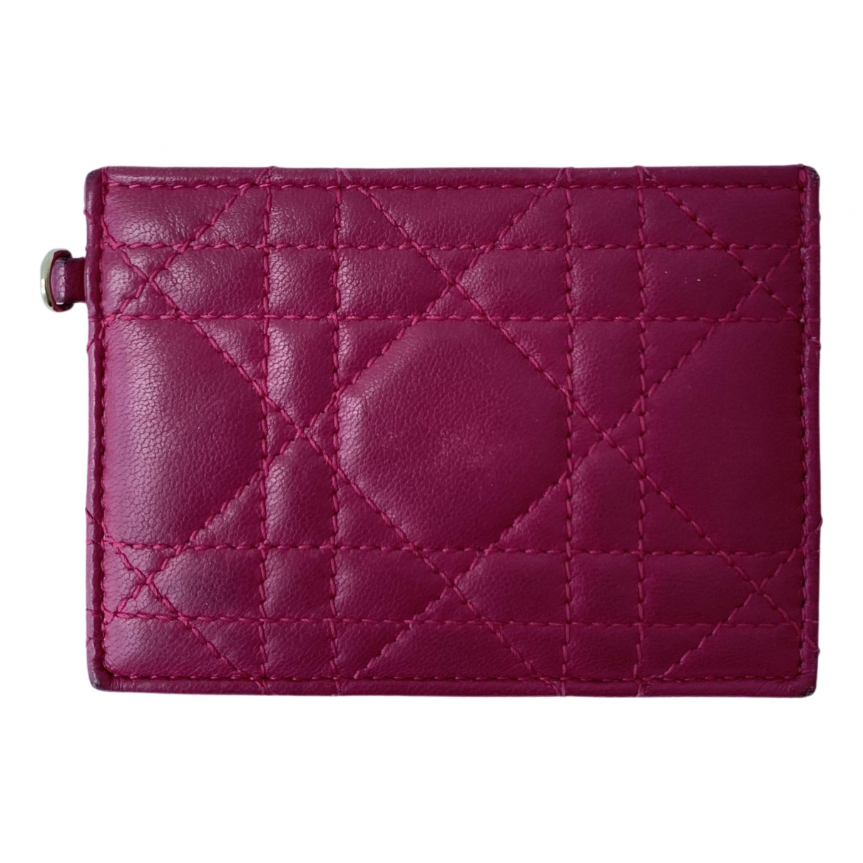 Dior N Pink Leather Purses, wallet & cases for Women N