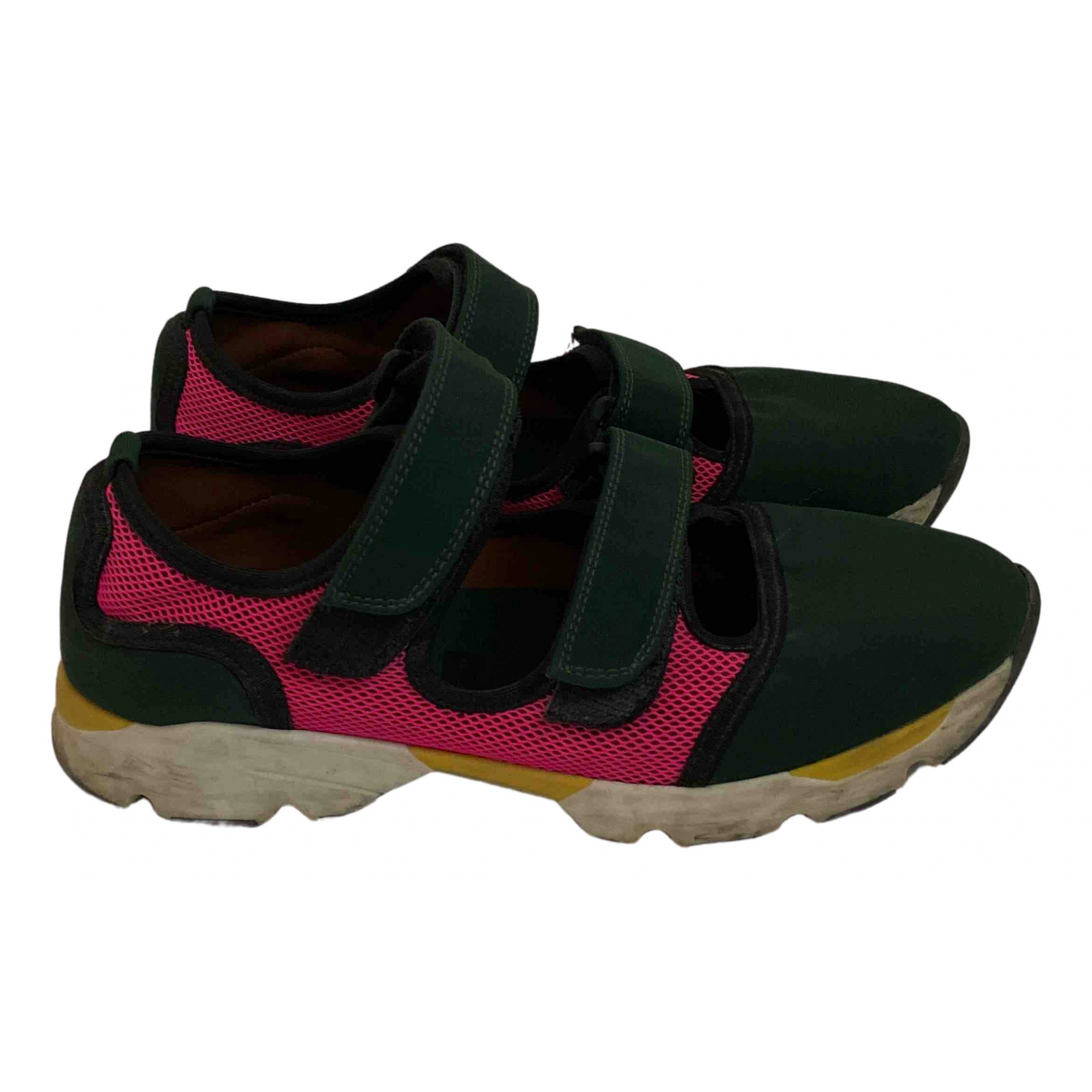 Marni - Baskets   pour femme - vert