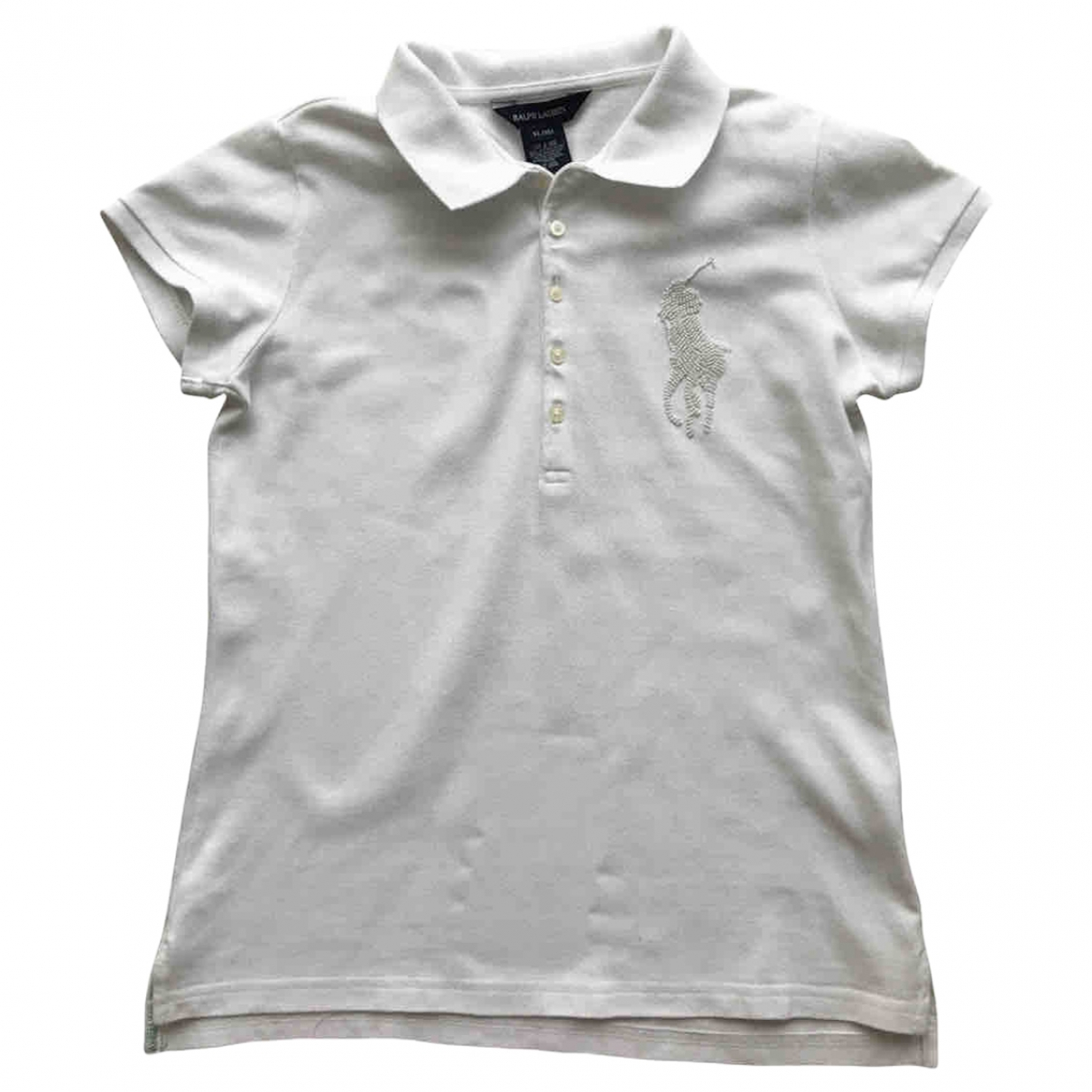 Polo Ralph Lauren - Top   pour enfant en coton - blanc