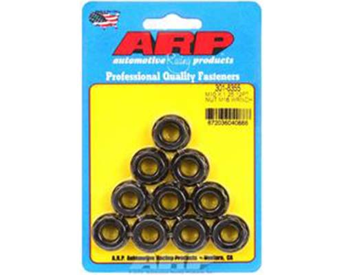 ARP M10 x 1.25 (5) 12-Point Nut Kit (Pack of 10)