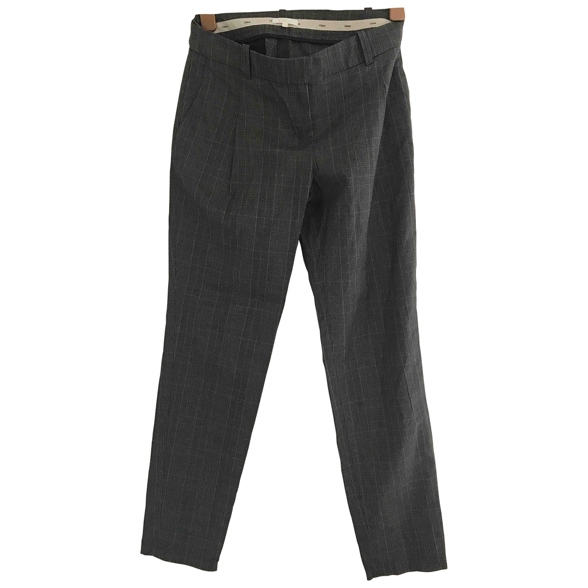 Chloé \N Cotton Trousers for Women One Size International